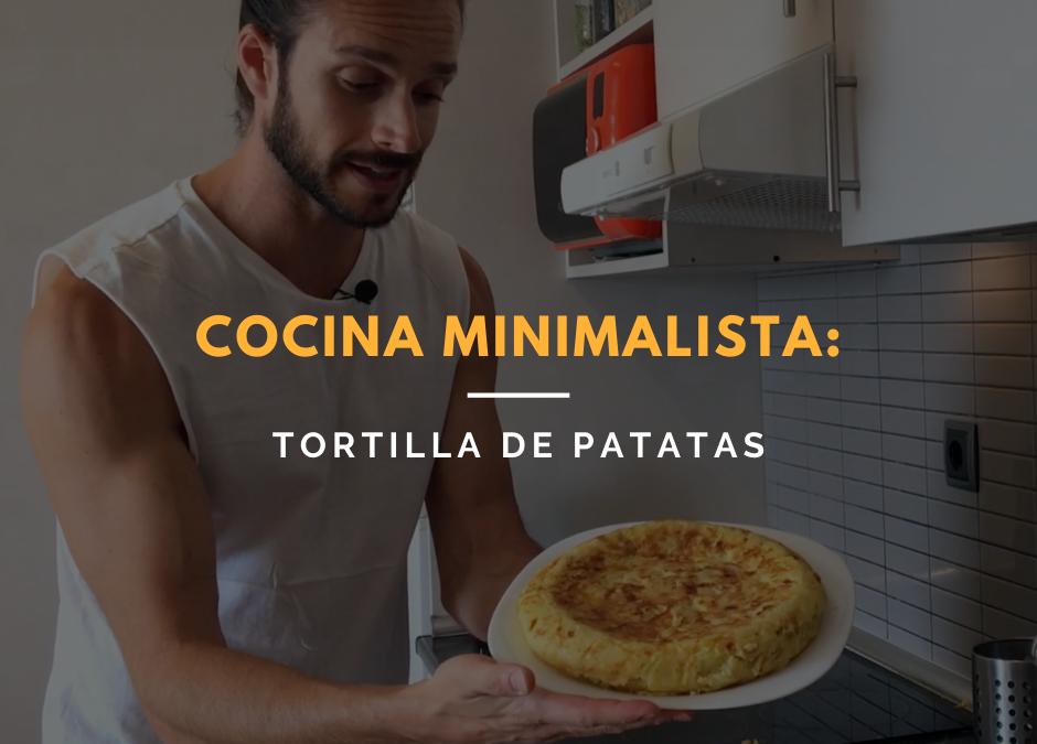 ¿Cómo hacer tortilla de patatas sana, de forma minimalista?