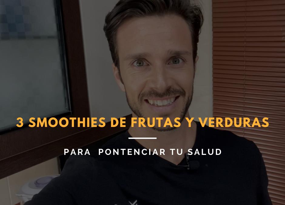 3 smoothies de frutas y verduras para tu sistema inmune