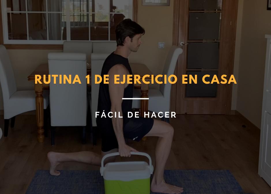 ejercicio en casa fácil
